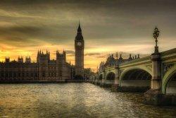 Rod Edwards (Autumn Skies, London, England) - plakat