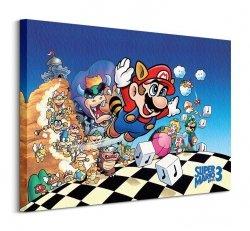 Super Mario Bros 3 (Art) - Obraz na płótnie