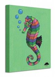 Mulga Sarah the Magical Seahorse - Obraz na płótnie