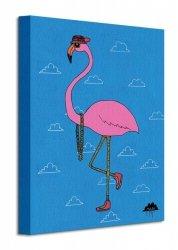 Mulga Frederick the Flamingo - Obraz na płótnie