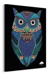 Mulga (Michael the Magical Owl) - Obraz na płótnie