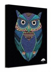 Mulga Michael the Magical Owl - Obraz na płótnie