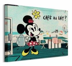 Cafe Au Lait - Obraz na płótnie