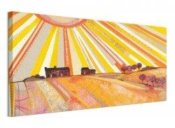 Sunburst - Obraz na płótnie