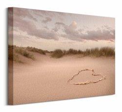 Love in the Dunes - Obraz na płótnie
