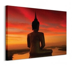 Stuart Miekle (Sun Setting over the Mekong) - Obraz na płótnie