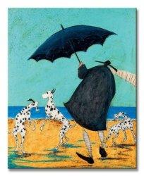 Obraz na płótnie - On Jack'S Beach - 40x50 cm