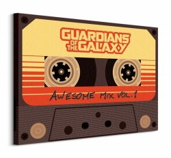 Guardians Of The Galaxy (Awesome Mix Vol 1) - Obraz na płótnie