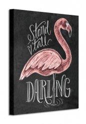 Flamingo - Obraz na płótnie