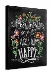 Happy - Obraz na płótnie