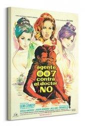 Nowoczesny obraz - James Bond (Dr. No Agente 007)