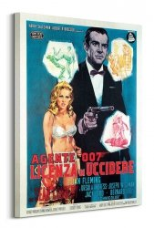 Obraz na płótnie - James Bond (Licenza Di Uccidere)