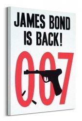Nowoczesny obraz - James Bond is back