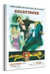 Obraz na płótnie - James Bond (Goldfinger Sketch)