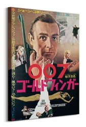 Obraz - James Bond (Goldfinger Foreign Language)