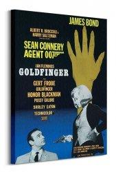 Obraz na płótnie - James Bond (Goldfinger Hand)