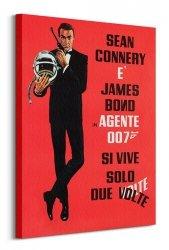 Obraz do salonu - James Bond (Si Vive Solo Due Volte)