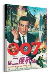 Obraz na płótnie - James Bond (You only live twice Rocket)