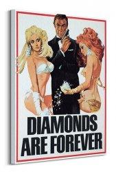 Obraz na ścianę - James Bond (Diamonds are Forever Girls)