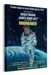 Obraz do salonu - James Bond (Moonraker Outer Space)