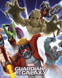 Plakat - Strażnicy Galaktyki