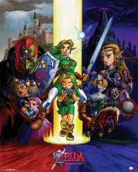 Plakat na ścianę - The Legend Of Zelda