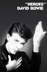 Plakat - David Bowie (Heroes)