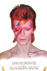David Bowie (Aladdin Sane) - plakat