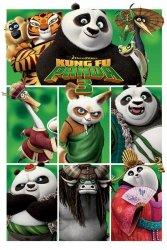 Plakat dla dzieci - Kung Fu Panda 3 - Bohaterowie