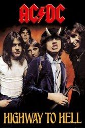 Plakat na ścianę - AC/DC Highway To Hell