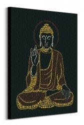 Citography (Buddha) - Obraz na płótnie