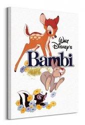 Obraz dla dzieci - Bambi (White) - 60x80 cm