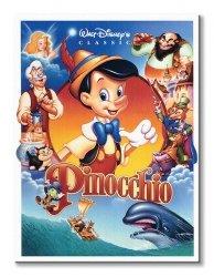 Obraz dla dzieci - Pinokio (Obsada) - 60x80 cm