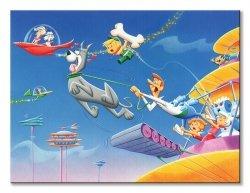 Obraz dla dzieci - The Jetsons - 80x60 cm