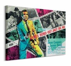 Obraz na płótnie - James Bond (Dr No Montage)