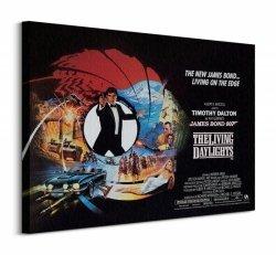 Obraz na płótnie - James Bond (The Living Daylights Living on the Edge)