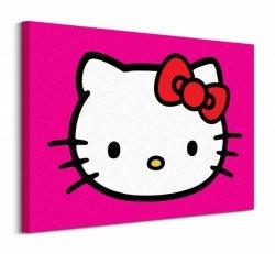 Obraz dla dzieci - Hello Kitty (Magenta) 80x60cm