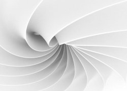 Fototapeta - Abstrakcja, fala 3D - 320x230cm