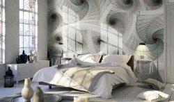 Fototapeta do sypialni - Spiralne, kolorowe fractale - 366x254cm