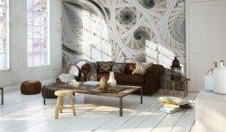 Fototapeta do salonu - Spiralne, symetryczne fractale