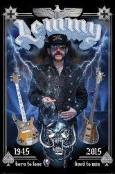 Lemmy (Pamiątkowy) - plakat
