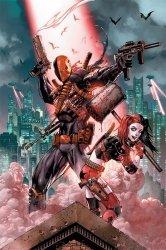 DC Comics (Deathstroke & Harley Quinn) - plakat