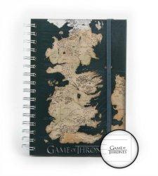 Gra o Tron Mapa Westeros - notes