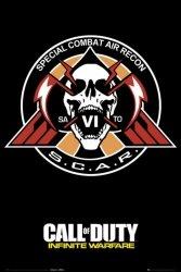 Call of Duty Infinite Warfare Scar - plakat