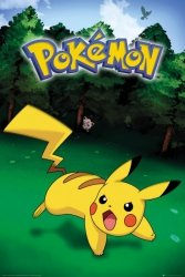 Pokemon Pikachu - plakat