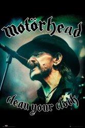 Motorhead Clean Your Clock - plakat