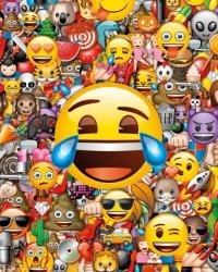 Emoji Emotikony - plakat