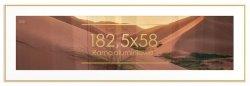Rama aluminiowa 58x182,5 cm