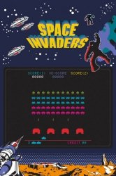 Space Invaders - plakat