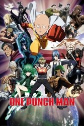 One Punch Man Collage - plakat